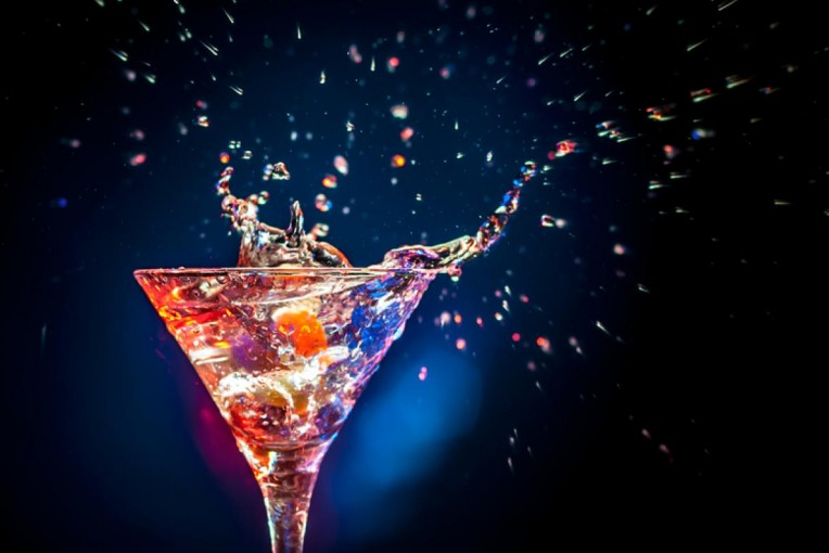 colourful-cocktail-on-the-black-background